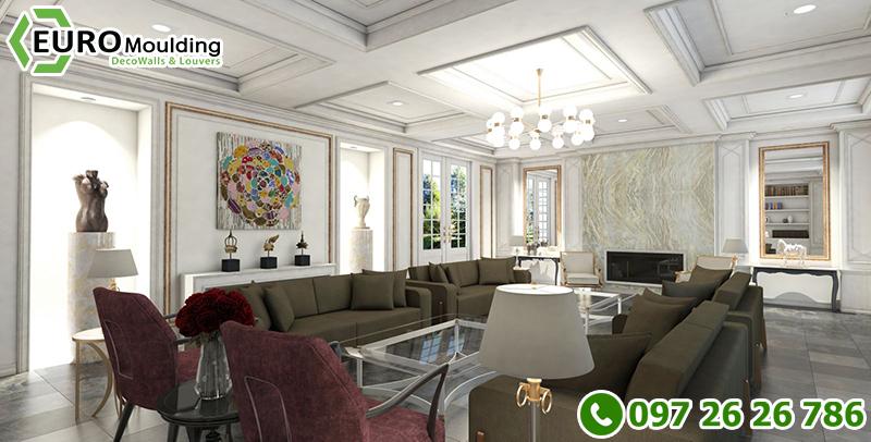 Những mẫu phào chỉ nhựa đẹp trong trang trí nhà cửa - 6